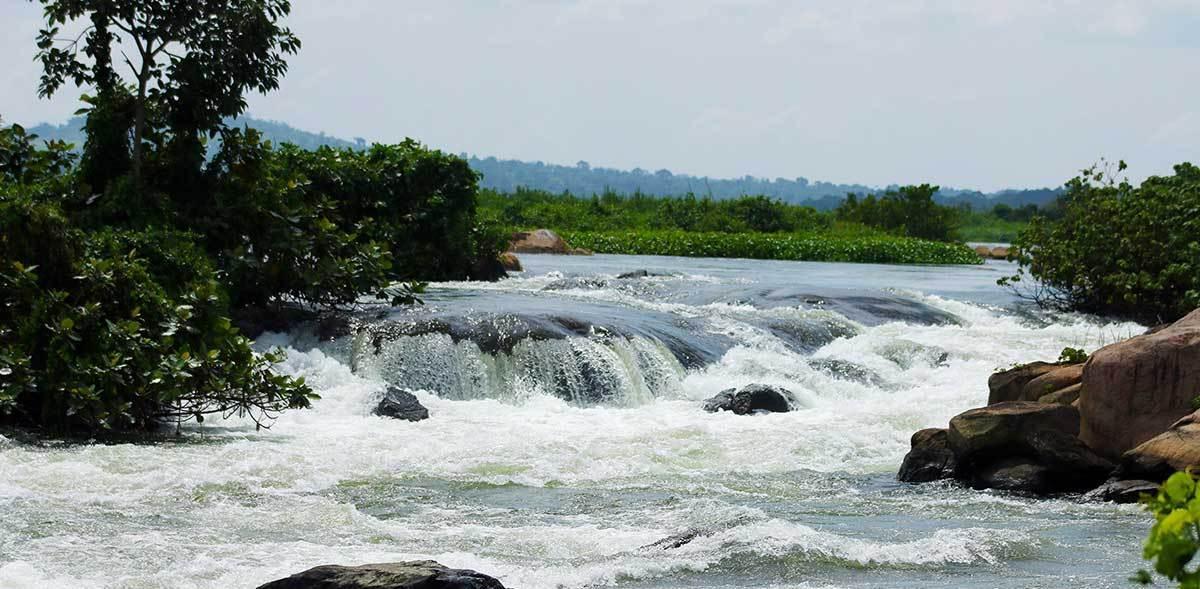 Source of the Nile River in Uganda